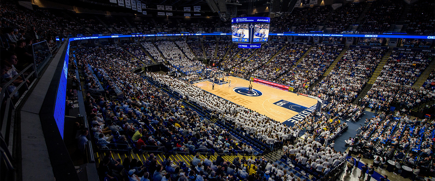 Penn state basketball game in BJC arena