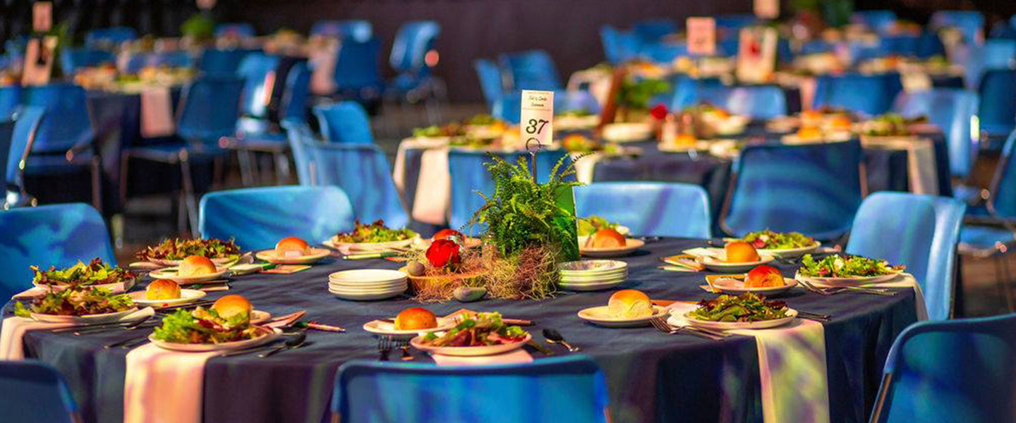 Tables at a BJC Catered event