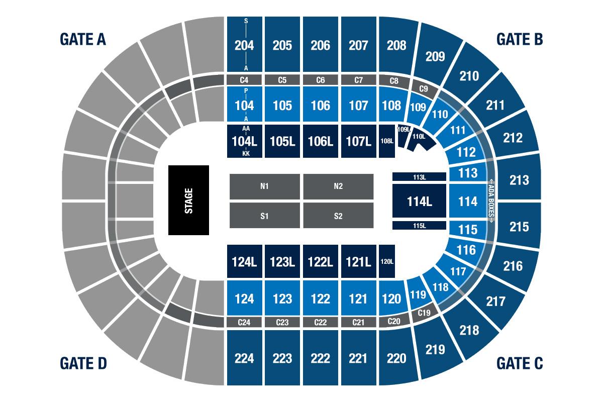 Seating Information Bryce Jordan Center