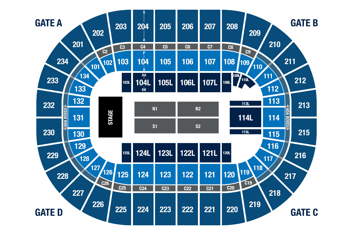 Seating Information | Bryce Jordan Center