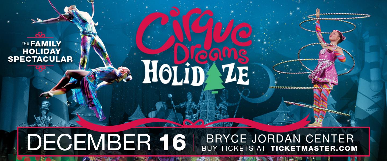 Cirque Dreams Holidaze at the Bryce Jordan Center December 16, 2021