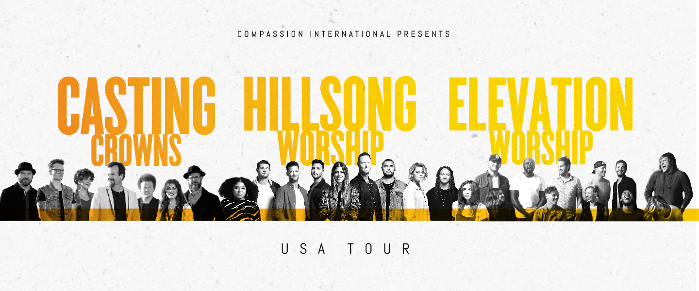 CASTING CROWNS, HILLSONG WORSHIP, ELEVATION WORSHIP