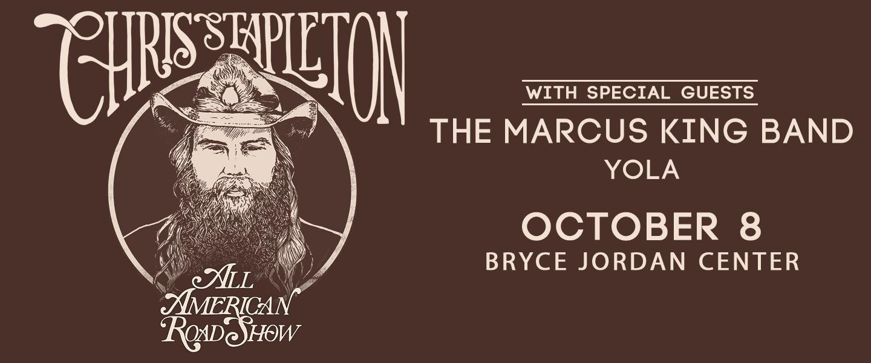 Chris Stapleton Oct. 8 2020