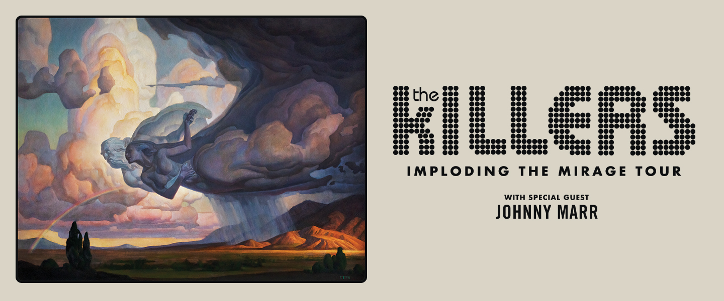 The Killers Coming October 6, 2020 at the Bryce Jordan Center