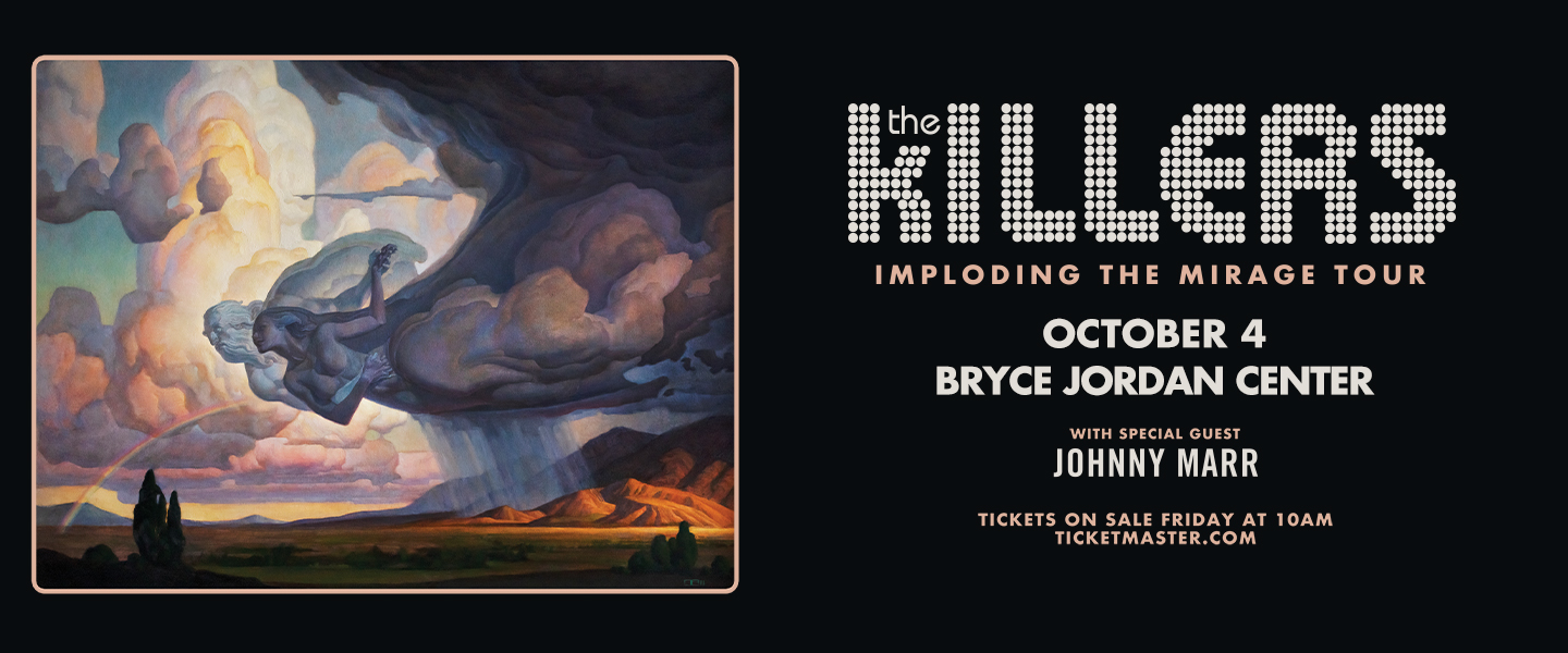 The Killers Imploding the Mirage Tour Coming to the Bryce Jordan Center October 4, 2022