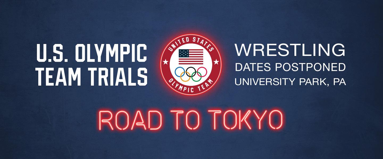 US Olympic Team Trials Wrestling Postponed