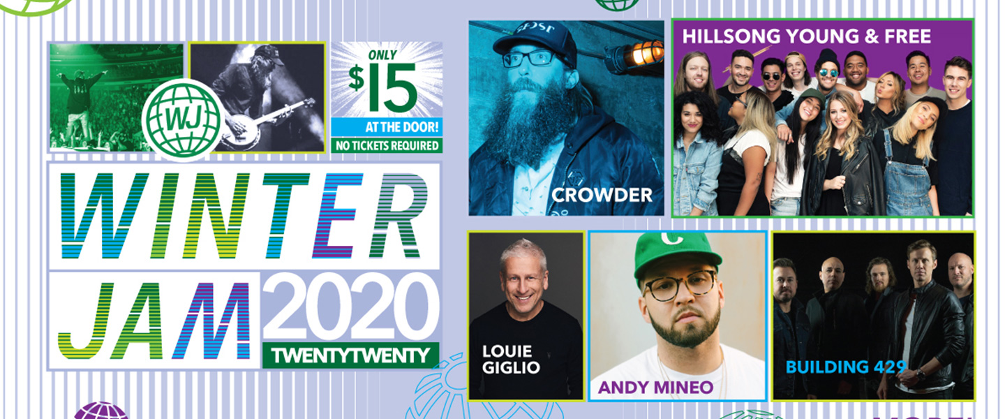 Winter Jam 2020.Winter Jam 2020 Bryce Jordan Center