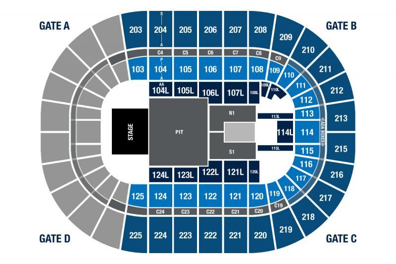 Chris Stapleton Seating Chart