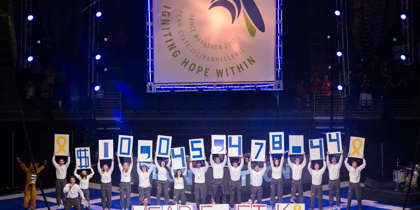 THON 2017 raised $10,045,478.44 to fight pediatric cancer