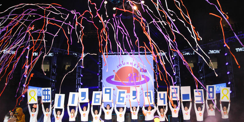 THON 2020 raised $11,696,942.38 to fight pediatric cancer