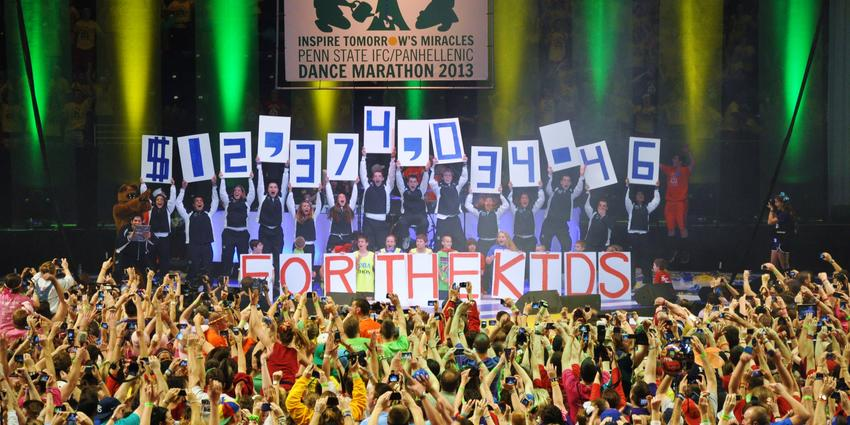 THON 2013 raised $12,374,034.46 to fight pediatric cancer