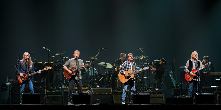 "The Eagles rocked and rolled the Bryce Jordan Center as part of their ""Long Road Out of Eden"" tour."
