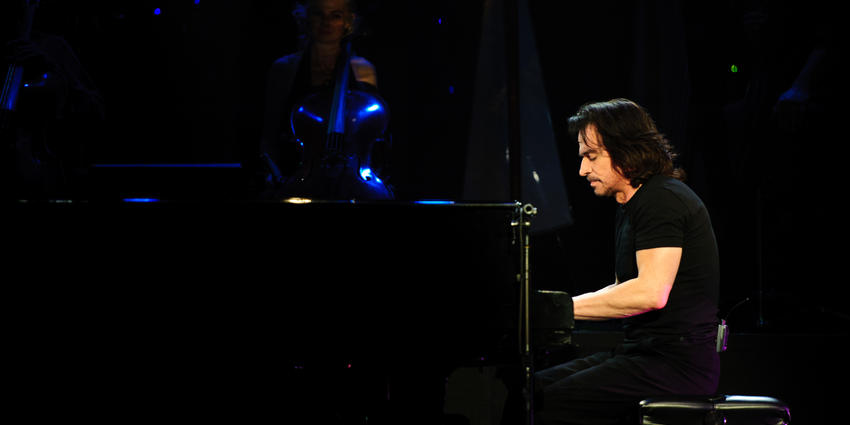 Legendary composer and performer Yanni brought his contemporary symphonic music to the BJC in 2011.