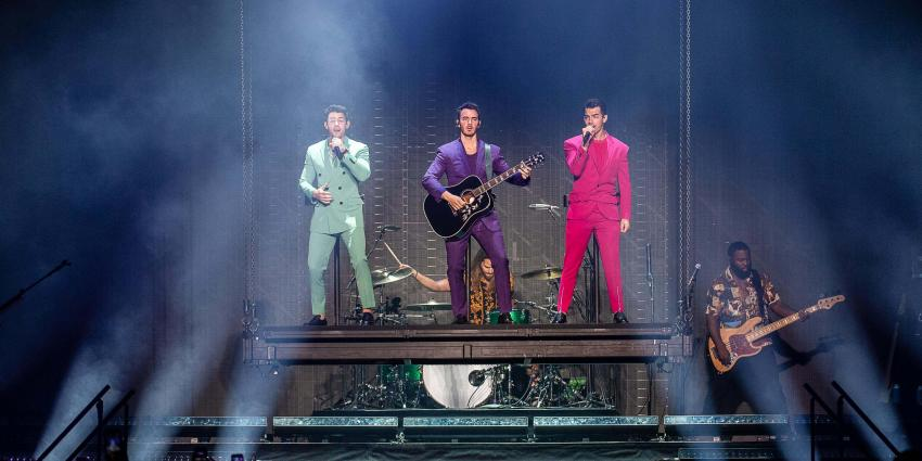 Jonas Brothers September 4, 2019 at the Bryce Jordan Center