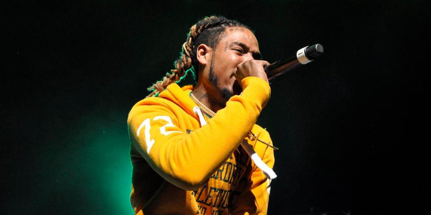 Fetty Wap performs for a sold out crowd at the BJC in 2016.