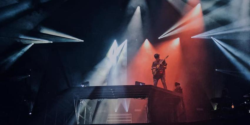 Electric music and Dubstep beats performed on stage by Illenium at BJC in 2019