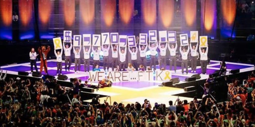 THON 2016 raised $9,770,332.32 to fight pediatric cancer