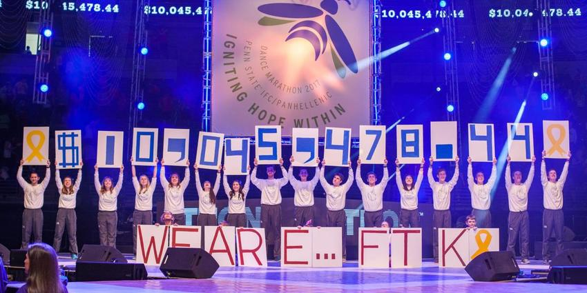 THON 2019 raised $10,045,478.44 to fight pediatric cancer