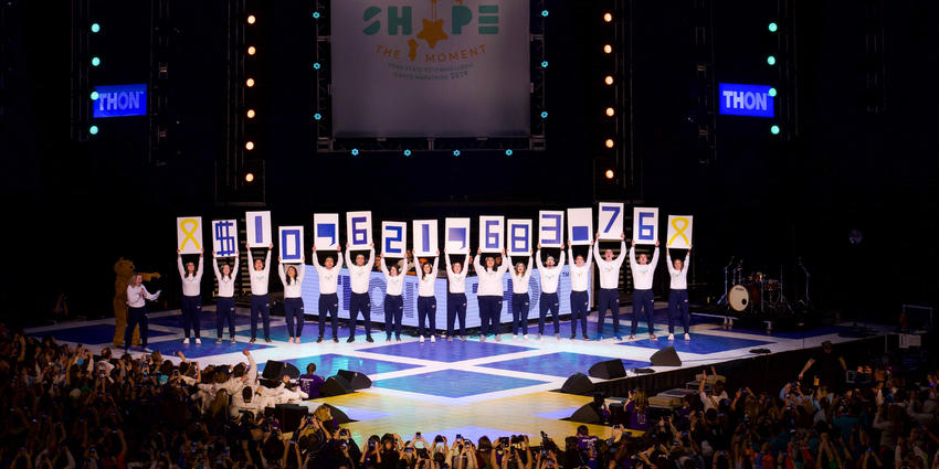 THON 2019 raised $10,621,683.76 to fight pediatric cancer