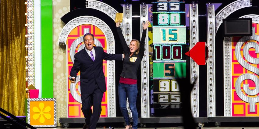 Price is Right Live game show with winner at BJC in 2017