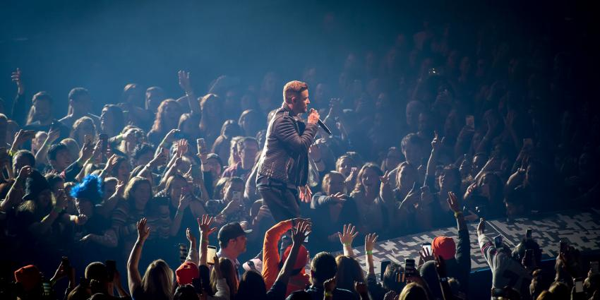 Justin Timberlake on stage