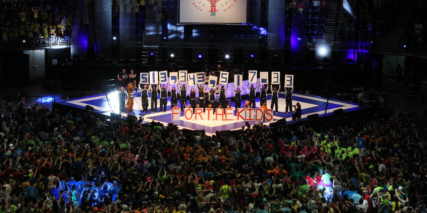 THON 2014 raised $13,343,517.33 for pediatric cancer.