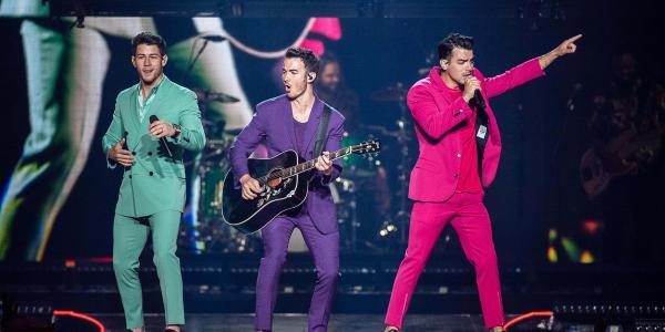 Jonas Brothers September 4, 2019 at the Bryce Jordan Center